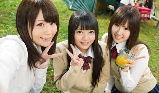 หนังโป๊ญี่ปุ่น ชวนสาวเย็ดหีกันในเต๊นท์ข้างแม่น้ำ เซ็กส์หมู่อย่างมันส์กันเลย