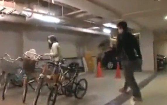 ข่มขืนผู้หญิงในลานจอดรถ จับเย็ดหีสำเร็จความใคร่ หนังโป๊ญี่ปุ่นแนวข่มขืน