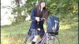 หนังโป๊ญี่ปุ่น นักเรียนหญิงสำเร็จความใคร่กับอานจักรยาน แถมโดนข่มขืนในห้องน้ำ